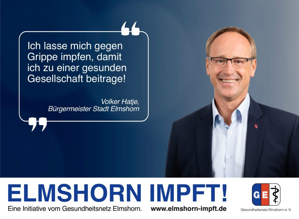 Elmshorn impft Testimonial - Volker Hatje
