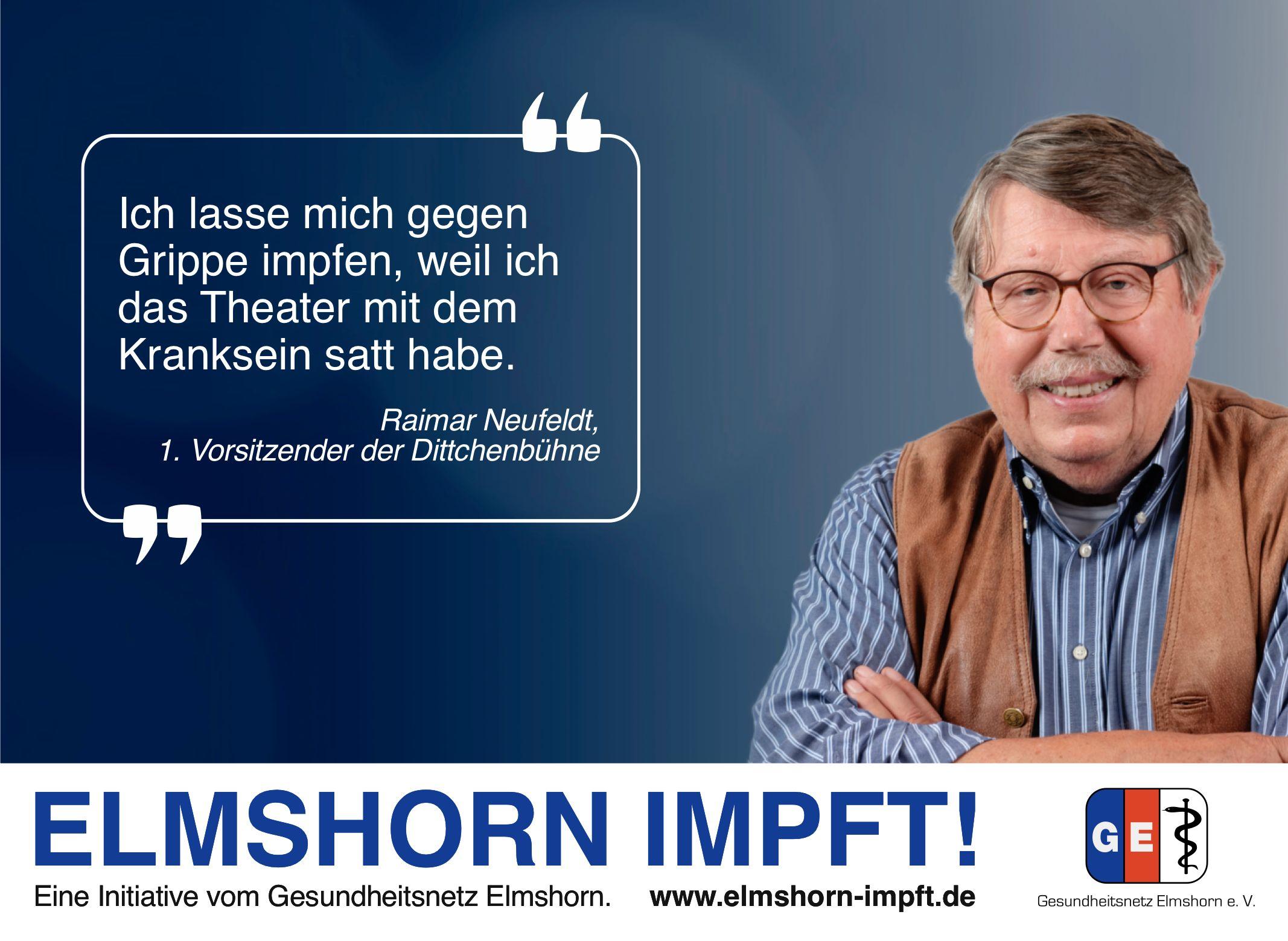 Elmshorn impft Testimonial - Raimar Neufeldt