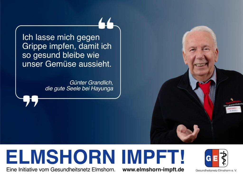 Elmshorn impft Testimonial - Günter Grandlich