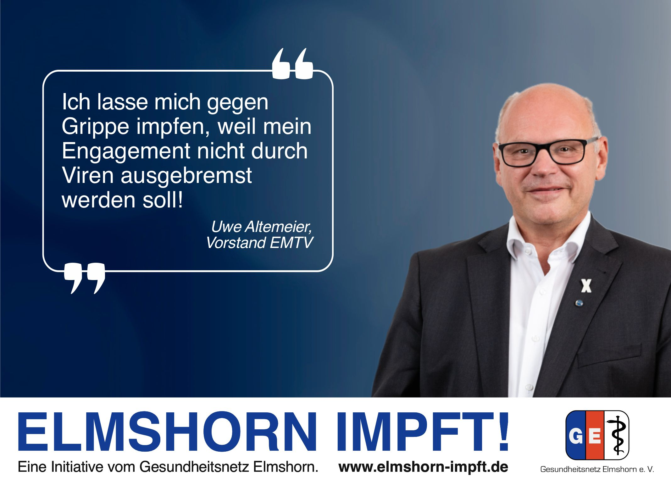 Elmshorn impft Testimonial - Uwe Altemeier