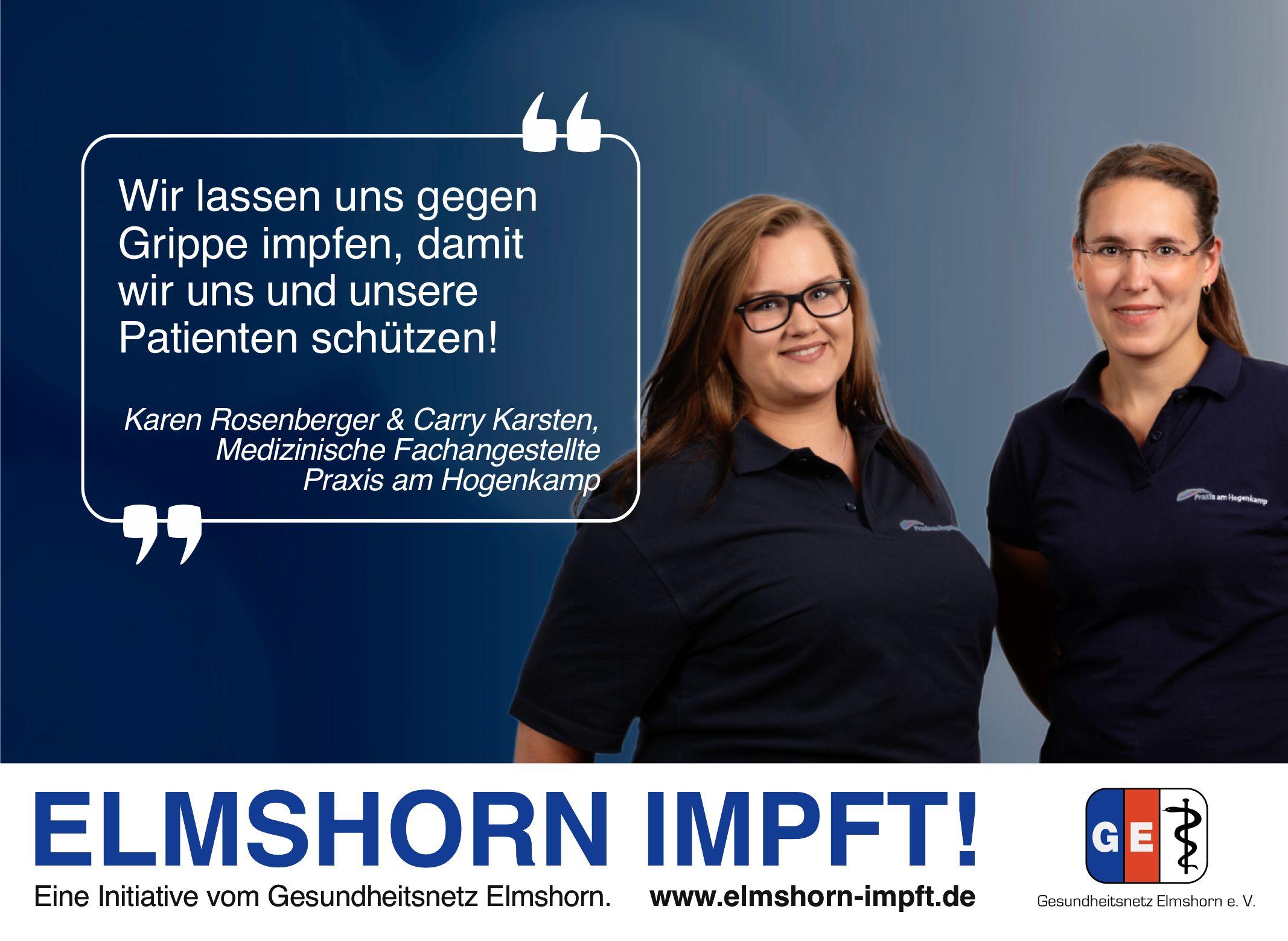 Elmshorn impft Testimonial - Praxis am Hogenkamp